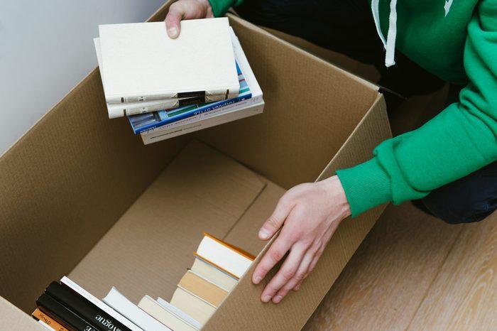 как правильно упаковать книги при переезде