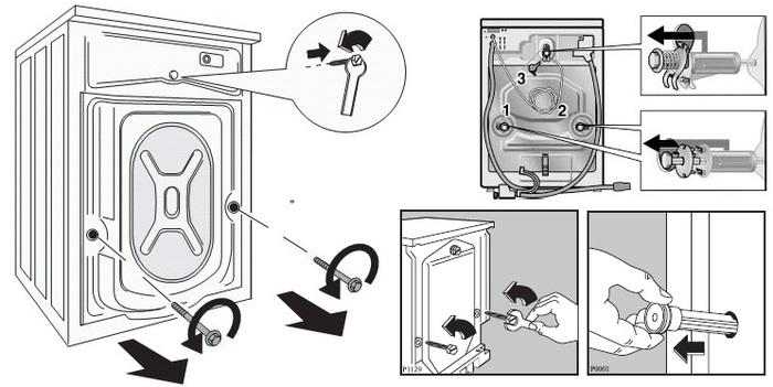 как можно перевозить стиральную машинку