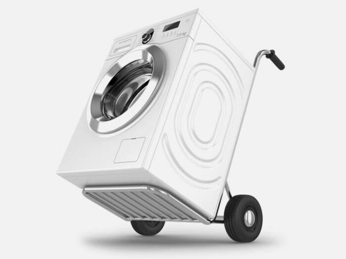 как перевозить стиральную машинку
