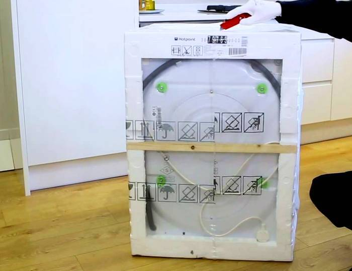 можно ли перевозить стиральную машинку на боку