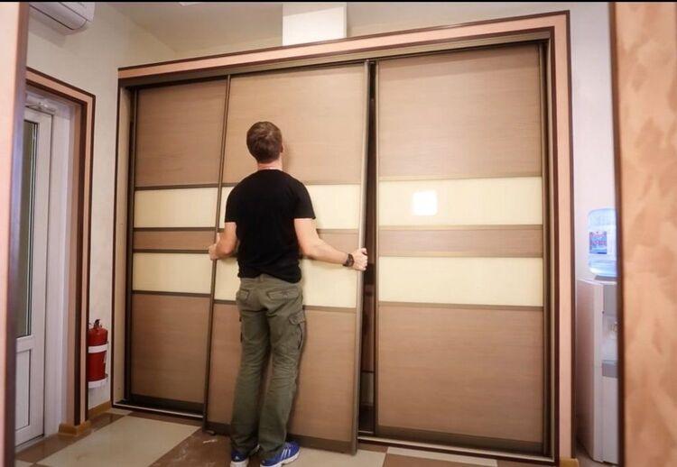 разобрать шкаф для переезда